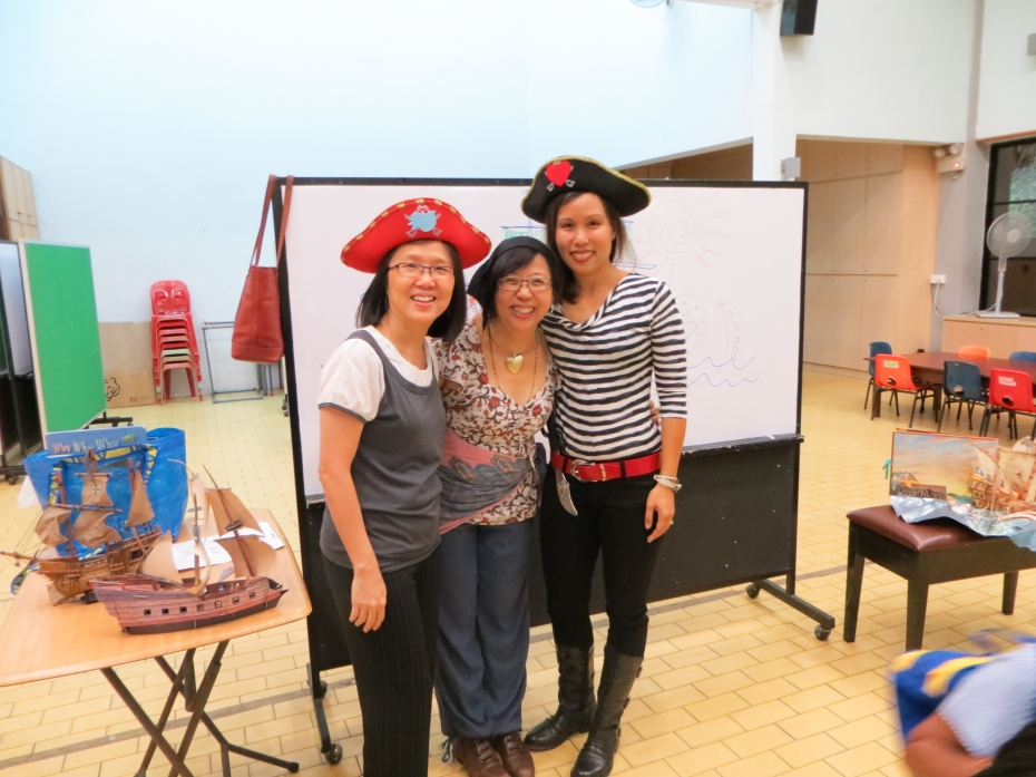 From left, BPMCK's Principal Cynthia Leong, Lee Kowling and Lynette Morrison